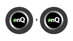 Quorum onQ remote graphic